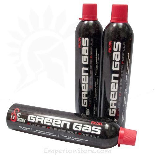 green gas vs. CO2